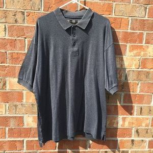 Nike Golf Polo Shirt Gray XL Mens' 100% Cotton